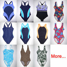 One Piece Swimsuit Tank Bathing Suit Bather 1 pc light swimwear size S M 6 8
