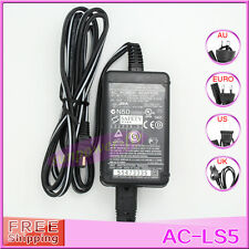 AC-LS5 AC Power Adapter For Sony DSC-P200 P150 P10 P73  DSC-G DSC-H DSC-P Series