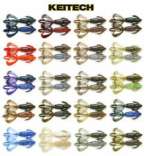 """KEITECH CRAZY FLAPPER 3.6"""" 7 PACK select colors"""