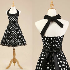Women Polka dot Vintage Rockabilly 50s 60s Swing Prom Party Dress Underskirt