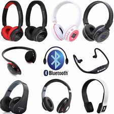 3.0 STEREO BLUETOOTH WIRELESS HEADPHONES HEADSET WITH MIC For Apple iPad iPod 4