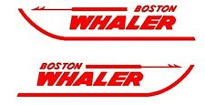 Pair of Boston Whaler   Boat Vinyl Decals Stickers different colors and sizes