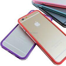 For Apple iPhone 6 6S Plus Ultra Hybrid TPU Bumper Frame Metal Buttons Case