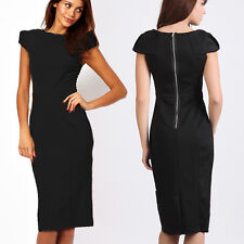 Office Lady Womens Formal Career Business Party Wear To Work Wiggle Pencil Dress