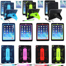 Heavy Duty Case Tradesman Tough  Case Stand Cover For Apple iPad Air 1st  iPad 5