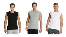 NEW JOCKEY MEN'S MUSCLE TEE WITH ROUND NECKLINE GIVE SPORTY & SMART VEST LOOK