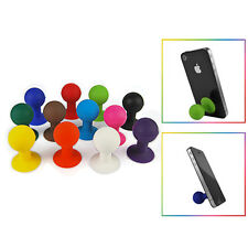 Plunger Octopus Mini Phone Mount Stand Holder For iPhone Galaxy Android Droid