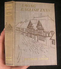 Among English Inns Rural England 1904 Decorative old book illustrated