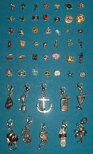 Memory Glass Living Locket Floating Charms & Dangles Tropical Vacation Cruise