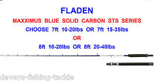 FLADEN MAXXIMUS BLUE SOLID CARBON STS BOAT ROD SERIES JIGGING UPTIDE TROLLING