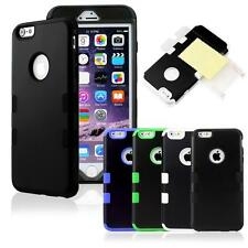 Hybrid Shockproof Hard Tuff Rugged Rubber Cover Case For Apple iPhone 6S 5.5/4.7