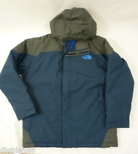 The North Face Boys Durant Jacket Deep Water Blue NWT $130 L 14-16