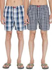 SDL by Sweet Dreams Multi Colour Check On Boxers - Pack Of 2 (S5ASDLMSPR501)