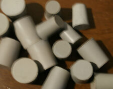 2 3 5 Pack Grey Neoprene Solid Rubber Stopper Bungs Laboratory sizes 5 to 21mm