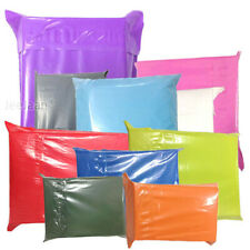 Coloured Mailing Bags Plastic Poly Postage Postal Envelopes - All Sizes Colours