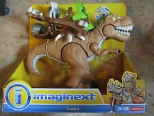 Fisher Price Imaginext NEW Dinosaur T-rex catapult Box t rex Dino sound Jurassic