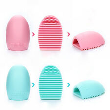 Women Cleaning Glove MakeUp Washing Egg Brush Scrubber Board Cosmetic Brush Tool