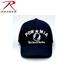 9288 Rothco POW/MIA Supreme Low Profile Insignia Cap - Black