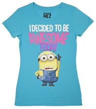 Despicable Me Awesome Minion Shirt - Women's Tee NEW