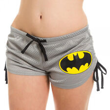 DC Comics Batman Logo Licensed NWT Women's Mesh Booty Shorts