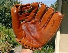 JIM CATFISH HUNTER WILSON  USA VINTAGE BASEBALL GLOVE