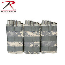 Rothco 40004 MOLLE Open Top Triple Mag Pouch - ACU Digital Camo
