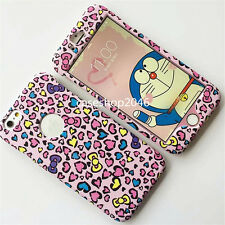 New Cute pink Bow Love Leopard fullbody case cover for apple iphone 7 6 6S plus