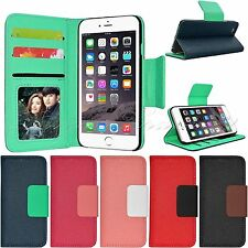"""For Apple iPhone 6 4.7"""" Stylish Flip Leather Wallet Card Pouch Case Stand Cover"""