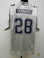 NFL Woodson Dallas Cowboys Silver American Football Shirt Jersey