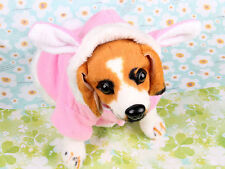 Pet Dog Cat Bunny Clothes Warm Clothes Autumn& Winter Puppy Costume Apparel Z1