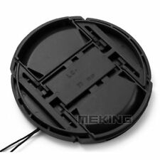 Meking 52-82mm Camera Snap-on Lens Cap Cover with Cord Filter Lens Cap For Canon