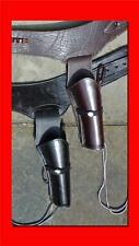 WESTERN Cowboy Gun Belt HOLSTER RIG - Heavy Tooled - Great Gift