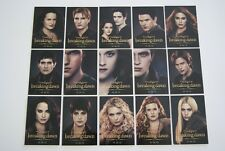 SDCC Comic Con 2012 Exclusive Twilight Breaking Dawn part 2 Trading cards