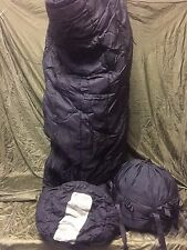 USGI Military Sleeping Bag MSS Intermediate Cold Weather 30 to -10°F ~ VERY GOOD