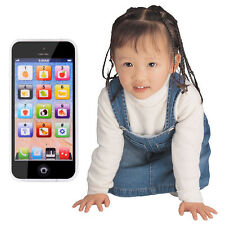 YPhone USB Mobile Phone Toy Educational Gift For Baby Girl Boys Kids White/Black