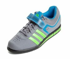 Men Adidas Powerlift 2.0 Weightlifting M18769 Grey Green Blue 100% Authentic New