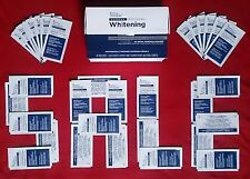 Crest3D SUPREME PROFESSIONAL teeth whitening white strips VERY STRONG WHITENER!