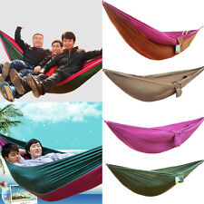 T147 Outdoor Huge Double Single Hammock Air Chair Hanging Swinging Camping bed