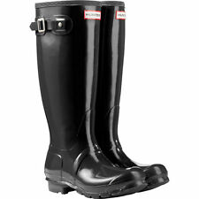 Hunter Ladies' Original Tall Rain Boot Black 100% AUTHENTIC ALL SIZE 6 7 8 9 10