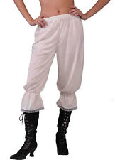 Ladies Steampunk Victorian Pantaloons Bloomers Fancy Dress Undergarment Adult