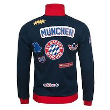 ADIDAS ORIGINALS FC BAYERN MUNICH TRAINING JACKET MUNICH PATCH TRACK TOP XL XXL