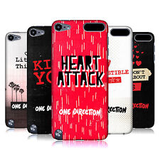 OFFICIAL ONE DIRECTION 1D TAKE ME HOME HARD BACK CASE FOR APPLE iPOD TOUCH MP3