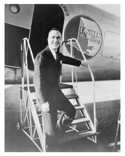 Eddie Rickenbacker Photo Stepping Off Eastern Airlines Photo Free Shipping