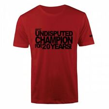 UFC Undisputed Champion T-Shirt - Red - Men's  Sizes S/M NWT