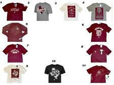 TEXAS A&M AGGIES OFFICIAL PREMIUM PERFORMANCE WORKOUT FASHION SHIRTS