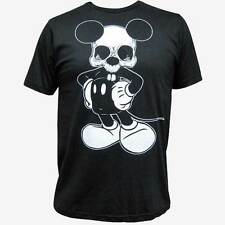 Mikey Men's Dead Mouse Black Tee by Lowbrow Art Company Custom Tattoo Art Shirt