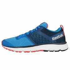 Reebok One Distance Blue Red Mens Running Shoes Sneakers Runner Trainers V66340