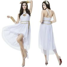 4PCS Womens Sexy Adult Halloween Party Greek Goddess Costume Fancy Cosplay Dress