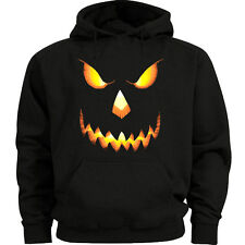 Halloween sweatshirt Jack o Lantern Men's size sweat shirt hoody hoodie pumpkin