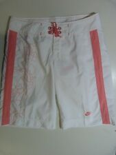 NEW LADIES WOMENS NIKE BOARD SHORTS LINED RRP £25.99 WHITE 274256